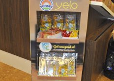 Sunset's Yelo display for retailers