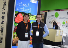 Ian Cover and Wendy of Fruit Growers Australia.