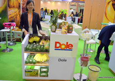 Airy He of Shanghai office of Dole in China. The Philippines are lobbying hard to receive market access for the country's avocados, of which planting has grown rapidly in recent years.