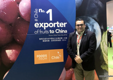 Christian Carvajal, Director of Marketing at ASOEX, the Chilean export association.