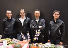 The Tokita team from Japan and Italy with CEO Ike Tokita (3rd - left); Tokita continues to celebrate 100 years of growth.