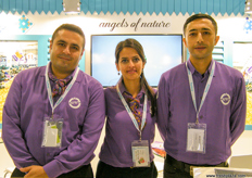 At the Eren Tarim stand, The Angels of Nature at work (Turkey).