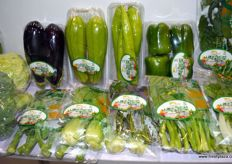 Selection of vegetables by Tangshan Abundant South Area Innovate Vegetable Export Processing
