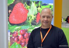 Phil Pyke of Fruit Growers Tasmania, the representative body for the state's apple, pear and stonefruit growers, including cherry producers.