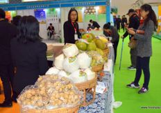 Thai produce that is readily available in China.