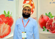Aziz Hyder of Fresh Connect, an Egyptian exporter of fresh citrus.