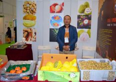 RuoQiang Ma of Shuang Yu (Thailand), a producer and exporter of exotics.
