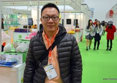 Mr Jacky Jian, authorised dealer of Pink Lady in China