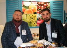 CEO Hakan Arikan of Finkum Agriculture (Turkey) with Commercial Director Cem Varnatopu; the company has now a branch in the Netherlands, ready to conquer more of Europe.