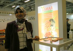 At the Moroccan Pavilion, Asmaa D'Emballage company