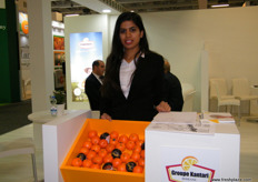 Ms. Anarni for Groupe Kantari; they have now 4500 hectares of citrus plantations, 15 packaging units and a cold storage capacity of 30000 tons.
