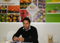 Assistant Export Manager El Sayed ElKady of Libyan Egyptian Company for Investment.
