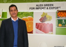 Managing Director Fawzy Nassar for Alex Green (Egypt); they also have processed products such as vine leaves, apricot halves, stuffed vine leaves and many more.
