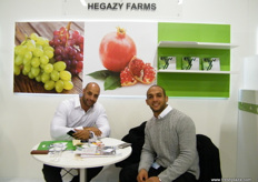 Khaled and Mostafa Hegazy for Hegazy Farms; Hegazy's pack station is about 2000 meter and it is BRC certified.