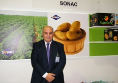 Samer Dawoud, Supply Chain Manager, Sonac (Egypt); Sonac is exporting around 40,000 tons of citrus annualy.
