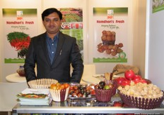 Sunil Awari, General Manager, Namdhari Seeds; the company is India's first GLOBAL-GAP & Leaf Marque Certified company.