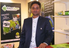 Pratik Mutha, Export Manager, Agrion Overseas (India); currently working with Don Limon where they both support smallholder grape growers.