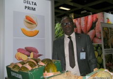 Hamidou Kane for Ferme Delta Prim (Senegal); deals with melons, sweet butternut and potatoes. The company is located in the northern part of Senegal.