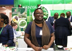 Ms. Yvonne for Miyonga Fresh Greens (Kenya); last year, the company started exporting passion fruits to the UK.