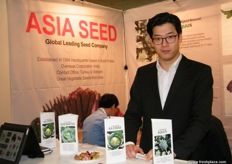 Johann for Asia Seed Co. (South Korea); Asia Seed just opened their branch in Turkey.