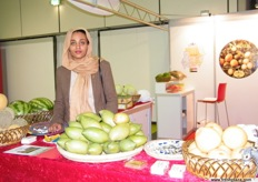 Ms. Asrar Ahmed, Economical Officer, Embassy of Sudan in Berlin; it was Sudan´s first time to exhibit in FL where they presented mangoes and melons as their major export products.