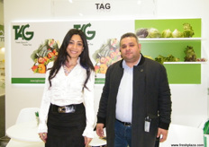 Executive Manager Bassem El Gergawy with Randa El Gergawy for TAG (Egypt); the company has implemented an integrated pest management plan that aims to reduce the use of pesticides.
