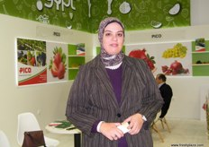 Logistics Manager Amira Hosny, PICO (Egypt); cultivates more than 7,000 acres of land with own pack houses.