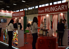 A view of the Hungarian stand.