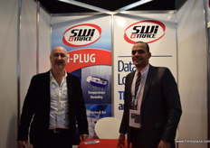 Patrick Poulet, together with Egyptian country manager Eslam Mohamed Nageeb, from Switrace.