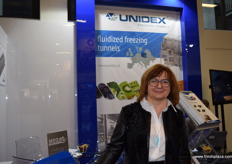Justyna Zielinska- Sales Director from Unidex Freezing Tunnels.