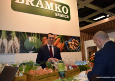 Stepan Briza- technical director for Bramko Semice, vegetable producer from the Czech Republic.