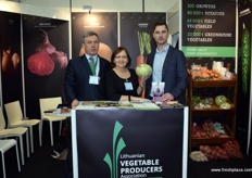 Vilius Jundulas- Director of Lithuanian agricultural cooperative Agrolit, Zofija Cironkiene- Director of the Lithuanian Vegetable Producers Association and Tadas Baliutavicius- Director of AUGA Luganta for organic vegetables.