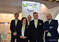 From Silvan Logistics, Cezary Hryniowski, Dominika Redlicka, Slawomir Judek, Michal Stepian and Marcin Mielczarek. Fruit Logistica was a good opportunity able to share the news about their new warehouse this year in Poznan with visitors.