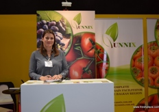 Marija Stamenkovska from Macedonia export company Unnix. The company specialises in the export of watermelon, grapes and persimmons.