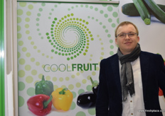 Andrzej Mierzejewski from vegetable exporter Cool Fruit.