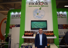 Iurie Fala, Executive Director of Moldova Fruit, a fruit producers and exporters association.