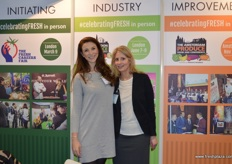 Brionny Dunmore and Mira Slott from The London Produce show and the Produce Business magazine.