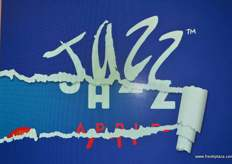 The new Jazz brand about to be launched.