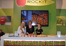 The ladies at the Rockit stand.
