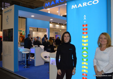 Marco were back in Berlin with the Production Data Display. It is a configurable system for efficiency data, health & safety info among the many other features. Mariette Hilbourne and Mandy Hart were just a couple of the by now, familiar faces at the stand.