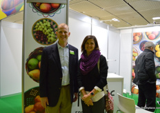 Richard Owen, PMA with Lindie Stroeble, PMA South Africa.