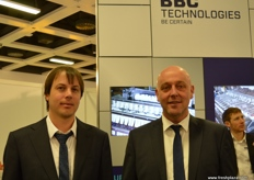Aaron Haworth and Fred Dauven from BBC Technologies were at Fruit Logistica with the Kato 260, a new all-in-one sorter first introduced in Madrid.