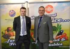 James Blaxland and Martin Clarke were at fruit Logistica for the second time and had just as busy as last year.