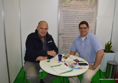 Andrew Gartell from Australian company Andrew B Gartrellwith Fanie Geundlingh from Lanko Pty, South Africa.