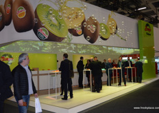 Zespri were of course out in force at the exhibition.
