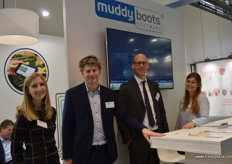 The team from Muddy Boots had a very bust few days: Becky Loader, Jack Evans, Hans-Joachim Reu and Christina Olsen,