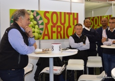 Deon Joubert give a briefing on the current CBS situation which is under control due to the efforts of the South African citrus Industry, he also spoke about the new European regulations on the False Codling Moth. It seems that there will be no change for the 2017 season and possibly none for 2018, but the South African industry will be working hard on the issue so it does not affect the citrus industry.