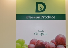 Deccan Produce were back to promote Indian grapes and pomegranates.
