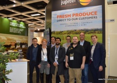 The happy team at Jupiter! Here with a new brand Leda elite(r).
