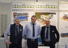 The guys at Haith have been busy doing big packhouse installations with integrated automation. The company is now a partner with Du Preez in Belgium. Chris Haith, Duane Hill and Nigel Haith.